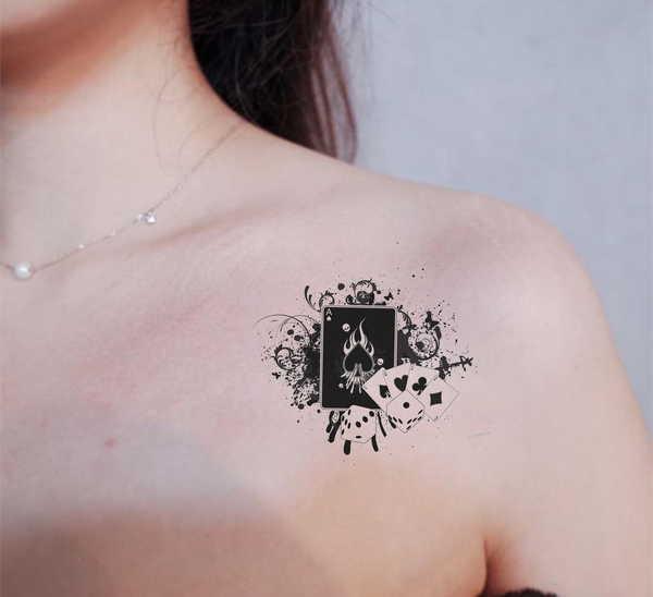 «Туз пик», значение татуировки0