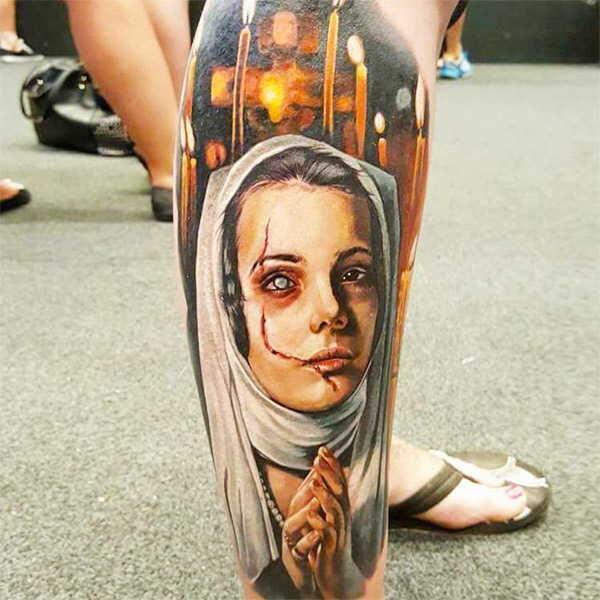 Значение татуировки монашка0