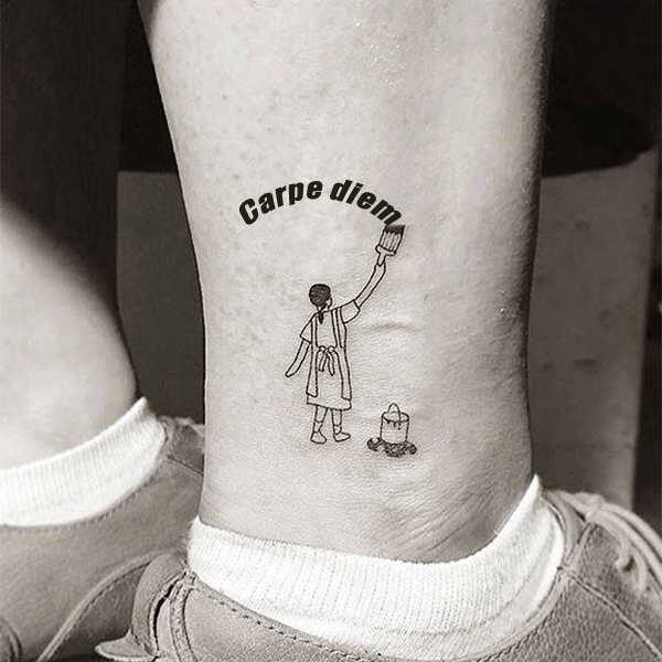 «Carpe diem» — значение тату0